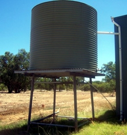 Aquaplate Metal Water Tanks Perth Above Ground Tanks